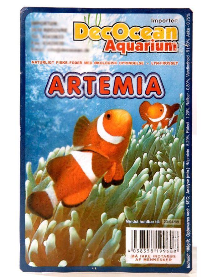 Artemia foder