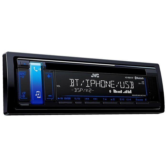 JVC autoradio KDR881BT CD / RDS turner m. Bluetooth Bilstereo