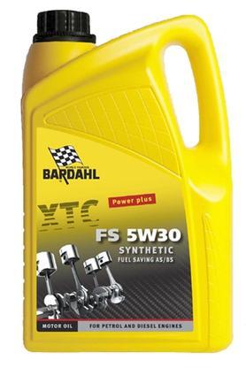 Bardahl Motorolie - XTC FS 5W30 Synthetic 5 ltr Olie & Kemi > Motorolie