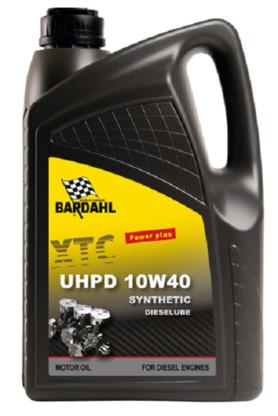 Bardahl Motorolie - 10W40 Dieselube UHPD Synthetic 5 ltr. Olie & Kemi > Motorolie