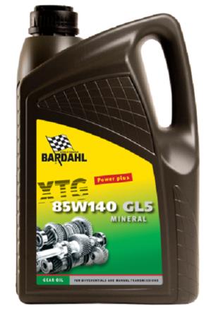 Bardahl Gearolie - XTG 85W/140 GL5 5 ltr. Olie & Kemi > Gearolie
