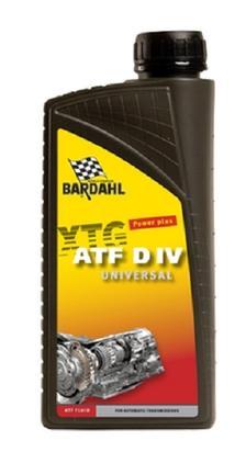 Bardahl Gearolie - ATF DIV Universal Automatgearkasseolie 1 ltr Olie & Kemi > Gearolie