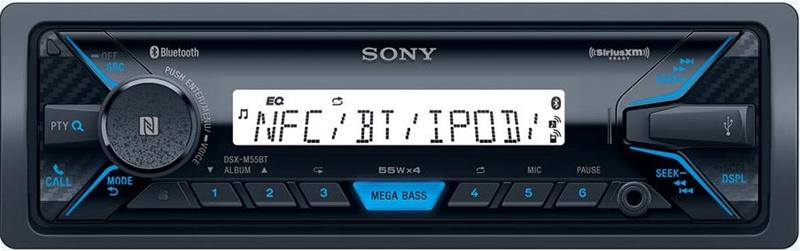 SONY Marine radio DSXM55BT med bluetooth Bilstereo > CD / Radio