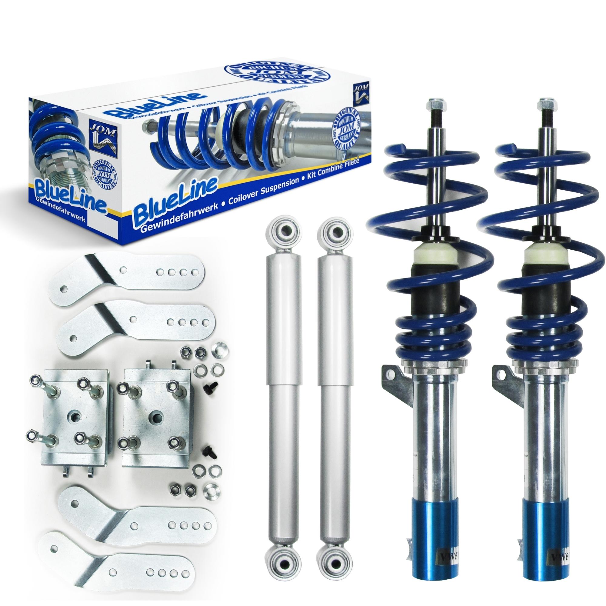 Blue Line - Gevindundervogn til VW Caddy 3 Udvendig tilbehør > Gevindundervogne > VW > Caddy