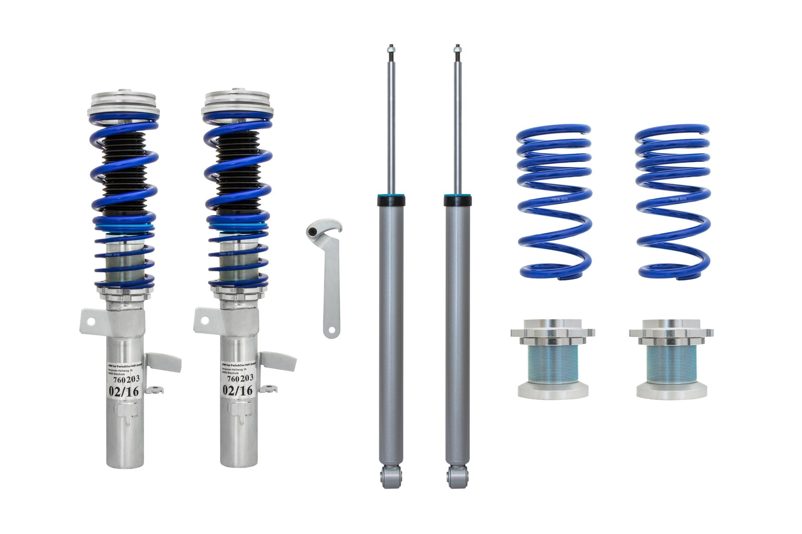 Blue Line - Gevindundervogn til Ford Focus 3 Limousine Udvendig tilbehør > Gevindundervogne > Ford > Focus