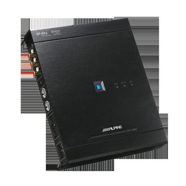 Alpine PXA-H800 D.S.P Processor Bilstereo > EQ / Processorer