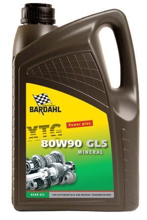 Bardahl Gearolie - 80W/90 GL5 5 ltr Olie & Kemi > Gearolie