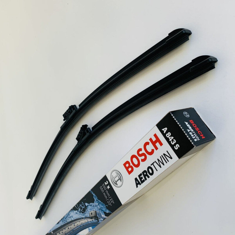 A843S Bosch Aerotwin Vinduesvisker / Viskerblade sæt 2x55cm Bosch Vinduesvisker / Viskeblade & Bagrudeviskere