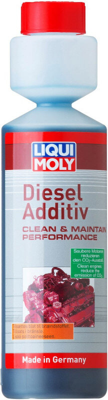 Diesel Additiv med NEM dosering - Liqui moly 250ml Diesel additiver fra Liqui Moly