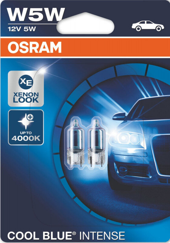 Osram W5W Cool Blue Intense pærer