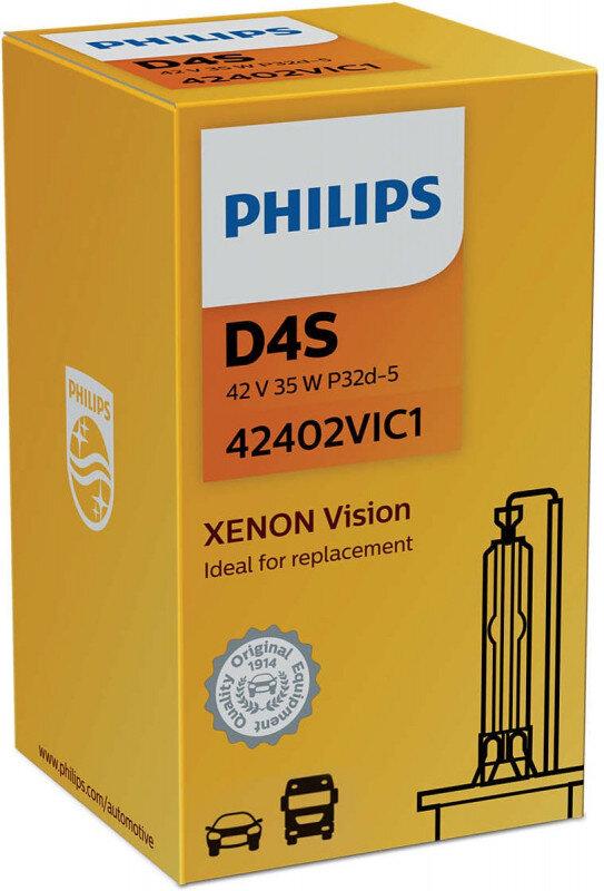 Philips D4S Vision Xenon pære