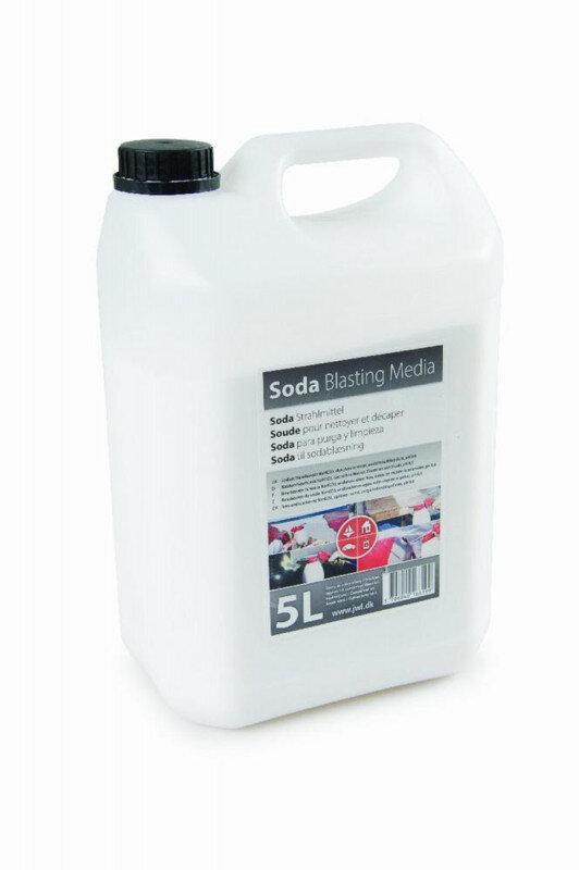 Sodapulver 5kg til Sodablæsning - lev. i 5L dunk