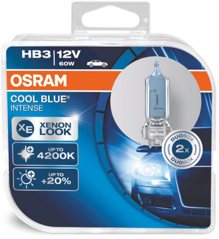 Osram HB3 Cool Blue Intense pærer sæt (2 stk.) pakke Osram Cool Blue Intense