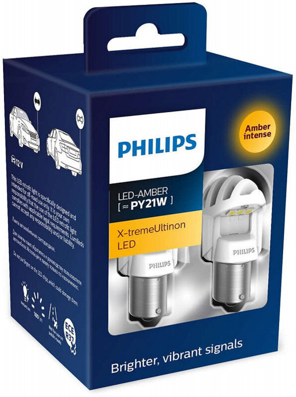 Philips X-tremeUltinon PY21W LED-AMBER