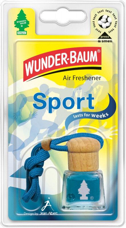 Sport luft frisker flaske / Air Freshener bottle fra Wunderbaum Wunder-Baum dufte
