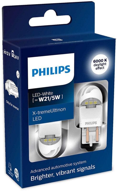 Philips X-tremeUltinon W21/5W LED-White