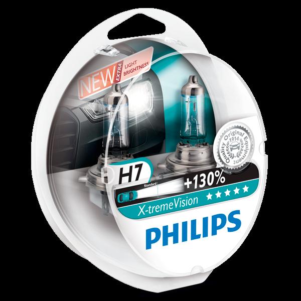 Philips X-treme Vision pærer H7