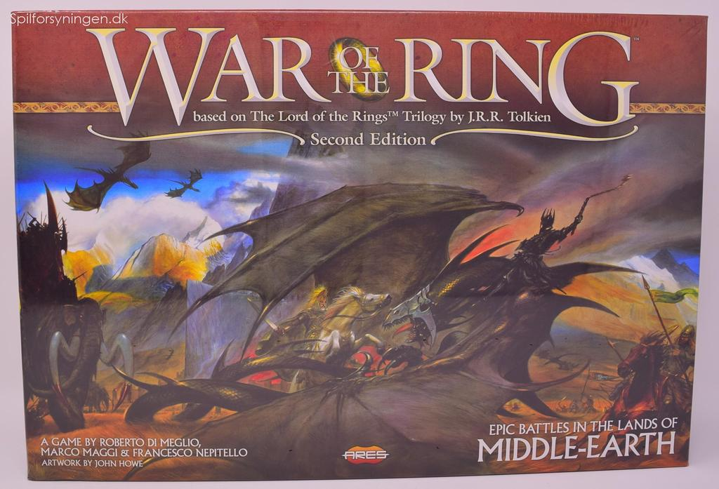 LOTR – War of The Ring 2nd ed.