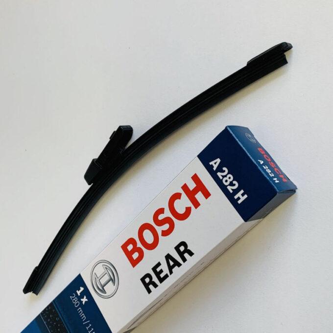 A282H Bosch Aerotwin bagrudevisker 28cm til VW Polo & Golf fra 2009 m.fl. Bosch Vinduesvisker / Viskeblade & Bagrudeviskere