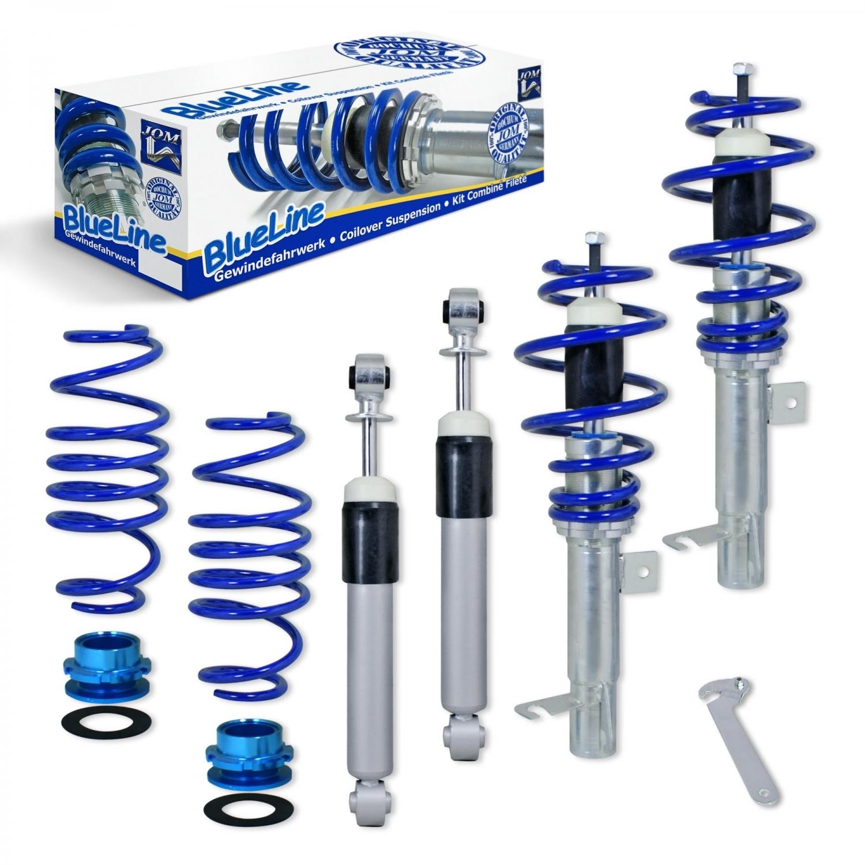 Blue Line - Gevindundervogn til Ford Fiesta Udvendig tilbehør > Gevindundervogn > Ford > Fiesta