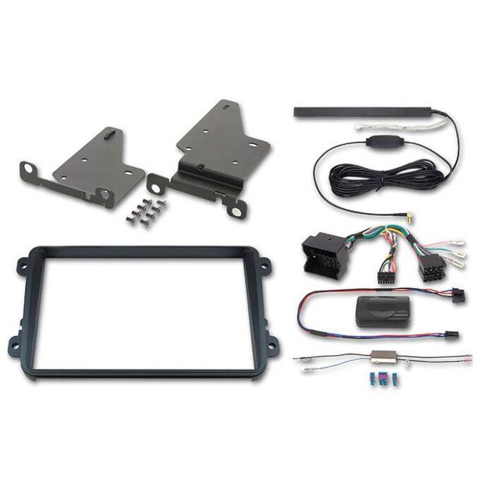 "Alpine 2-DIN 8"" Kit f. VW MIB-PQ platform Bilstereo > Monteringssæt"