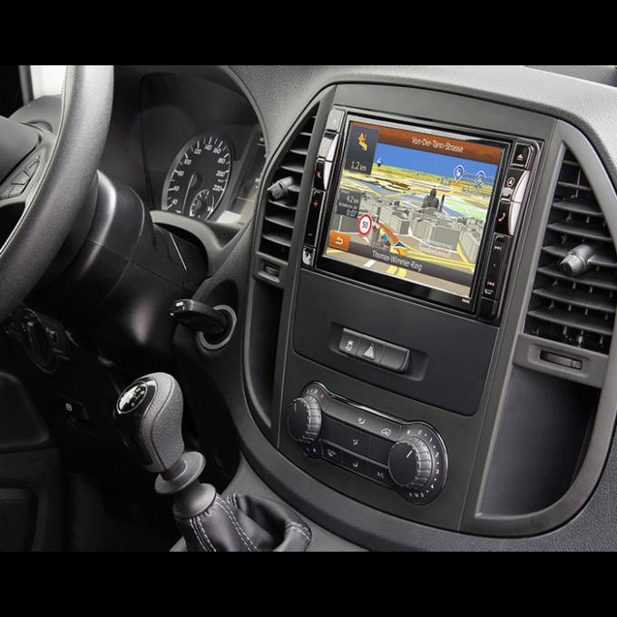 Alpine X800DV447 Style Mercedes Vito (447) - Multimedia Navigation Bilstereo > Navigation > Mercedes