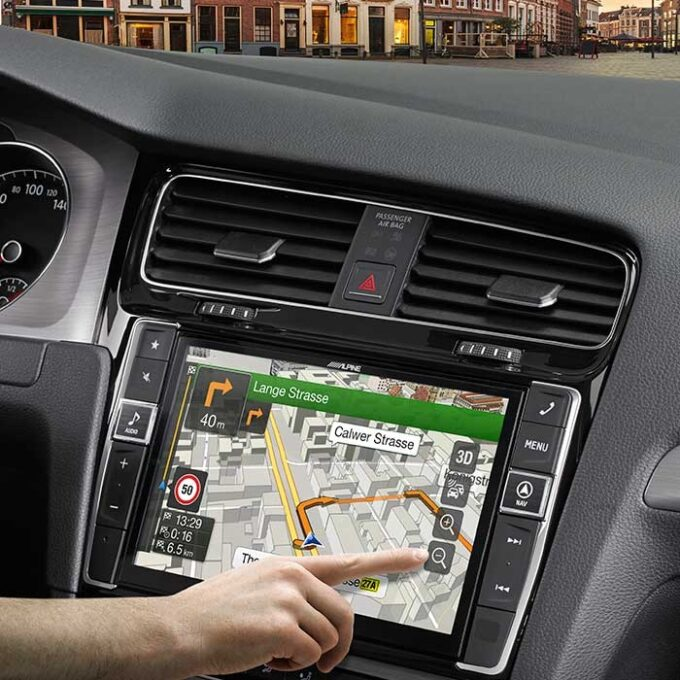 Alpine Style X901DG7 VW Golf 7 - Multimedia Navigation Bilstereo