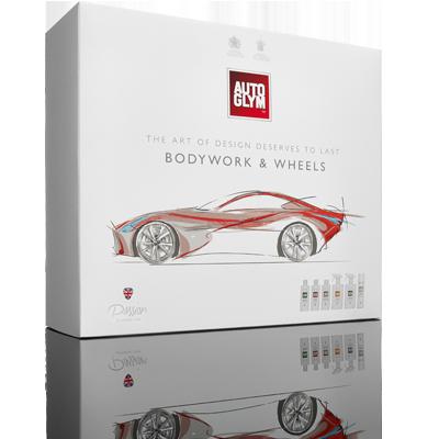 Autoglym Gavesæt - Bodywork & Wheels Collection - med 6 produkter Bilpleje