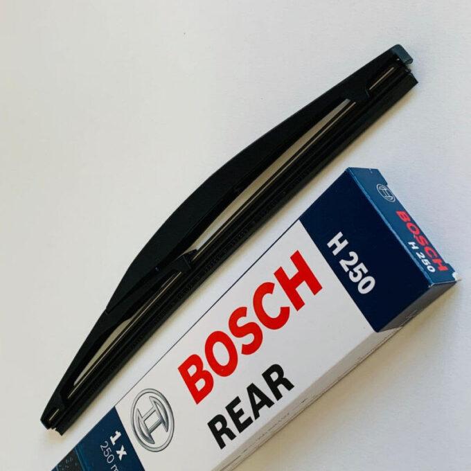 H250 Bosch Bagrudevisker 25cm lang til flere Suzuki modeller Bosch Vinduesvisker / Viskeblade & Bagrudeviskere