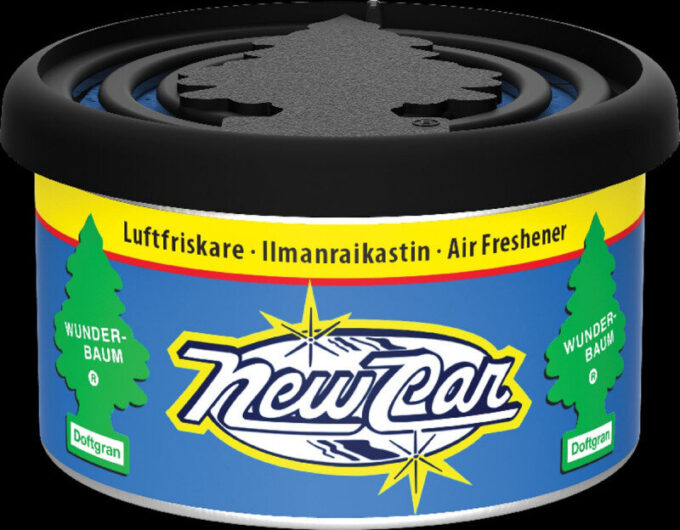 New Car duftdåse / Fiber Can fra Wunderbaum Wunder-Baum dufte
