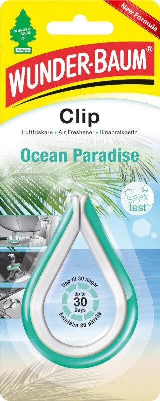 Ocean Paradise dufte clip fra Wunderbaum Wunder-Baum dufte