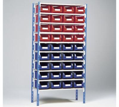 Kassereoler m. 36 kasser