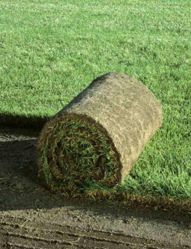 over 288 kvm Rullegræs. Til almindelig villahave
